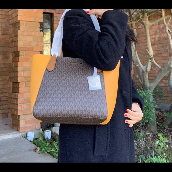 a3b18142a1d0 MICHAEL Michael Kors Bags | Michael Kors Kimberly Sm Bonded Tote ...